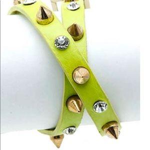 Jewelry - LEATHER BAND WRAPAROUND  BRACELET